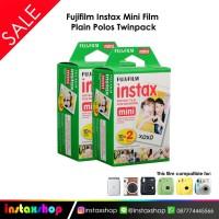 Fujifilm Instax Mini Film Plain Polos Twinpack - 2x20 (40 lembar)