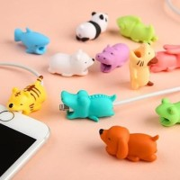 Animal Cable Bite Cute For Android And Iphone Pelindung Kabel Data