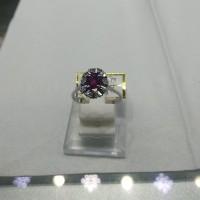 cincin lady diana ruby merah kombinasi berlian