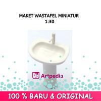 Maket Washtafel Skala 1 : 30 / Miniatur Wastafel / Washtafel - Satuan