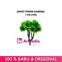 Maket Pohon Kamboja 7 cm Type 102 / Diorama Pohon / Miniatur Pohon