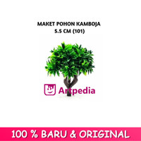 Maket Pohon Kamboja 5.5 cm Type 101 / Diorama Pohon / Miniatur Pohon