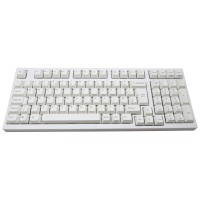 32e59f461e5 Leopold FC980MS/EWP Cherry MX Silent Switches,White Frame,White Key