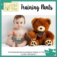 ORIGINAL Cuddle Me Adjustable Training Pants / Latihan Pipis Anak