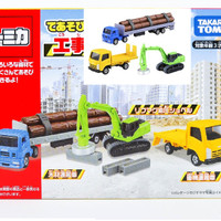 Tomica Gift Set Construction Car heavy equipment
