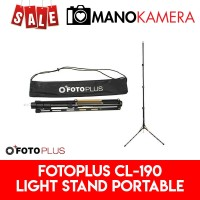 Fotoplus CL-190 Compact Mobile Light Stand CL190 Lightstand Free Bag