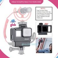 ULANZI V2 HOUSING CASE, For GoPro Hero 7 6 5 Cage Mount Vlog Mic Setup