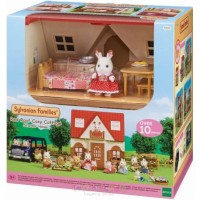 ALL NEW!!! SYLVANIAN FAMILIES RED ROOF COSY COTTAGE