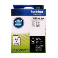 TINTA BROTHER LC539XL BLACK ORIGINAL PRINTER DCP J100 DCP J105 J200