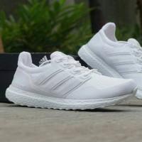 Sepatu Olah Raga Wanita Adidas Ultra boost women Casual Spor Grade Ori - Putih, 38