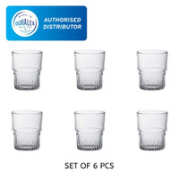 Duralex Empilable clear tumbler 16 cl ( tempered glass ) - Set 6
