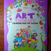 ART THERAPY Colouring Book For Children