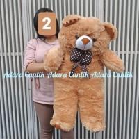 Boneka Jumbo Teddy Bear 90 cm Cantik Lucu Imut Hadiah Kado Bahan Halus
