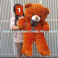 Boneka Jumbo Teddy Bear 1 Meter Cantik Imut Lucu Hadiah Kado Koleksi