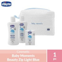 Chicco Baby Moments Beauty Zip Light Blue