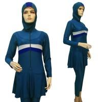Baju Renang Muslim Jumbo Premium MLJB-296 - Tosca, 4L