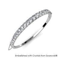 Xena Bangle - Gelang Crystal Swarovski® by Her Jewellery