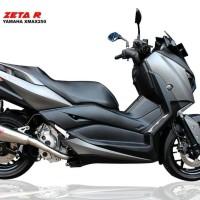 Knalpot R9 ZETA Series XMax 250 Fullsystem #Arrow #Scorpion #Akrapovic