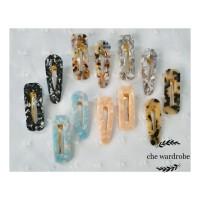 Marble Hairclip / Jepitan Rambut Marbel Vintage Style