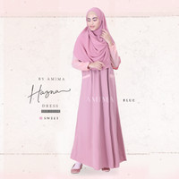 GAMIS HAZNA DRESS SWEET BY AMIMA DRESS ONLY