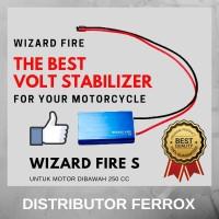 BEST SELLER! WIZARD FIRE S VOLT STABILIZER UNTUK MOTOR DIBAWAH 250 CC