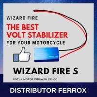 TERLARIS! WIZARD FIRE S VOLTAGE STABILIZER UNTUK MOTOR DIBAWAH 250 CC