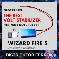 TERLARIS! WIZARD FIRE S BATTERY STABILIZER UNTUK MOTOR DIBAWAH 250 CC