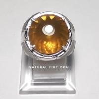 Harga batu natural fire opal permata wonogiri orange ring | Pembandingharga.com