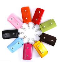 Dompet Kunci Mobil STNK Gantungan Kunci Imitasi Dompet Kartu Warna Key