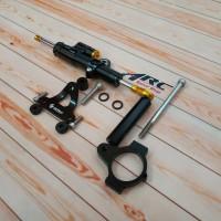 Stabilizer Stang KTC Gold + Bracket Steering Dumper Raceway CBR 250RR