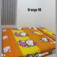 sprei homemade karakter anak SIZE 200 X 200 motif orange hk