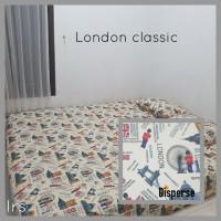 sprei homemade karakter anak SIZE 160 X 200 motif London Clasic