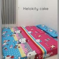 sprei homemade karakter anak SIZE 90 X 200 motif HK Cake