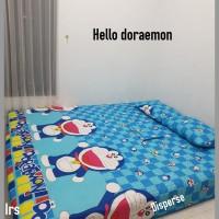 sprei homemade karakter anak SIZE 90 X 200 motif hello doraemon