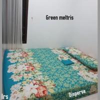 sprei homemade karakter anak SIZE 200 X 200 motif green meltris