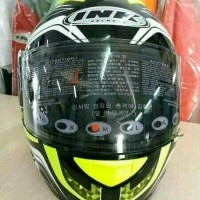 HELM FULL FACE INK CL-MAX SERI 5 YELLOW FLUO