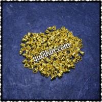 144 Piece Penahan Anting Besi Emas Pantat Anting Bahan Aksesoris