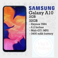 HP Samsung Galaxy A10 2/32 Resmi