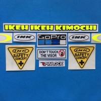 Cutting Sticker Stiker Visor Set Paket INK