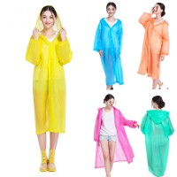 Fashion Raincoat Adult Hiking s Fishing Raincoat EVA Plastic