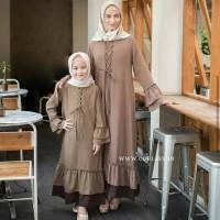 teresa couple muslim / sarimbit / maxi dress / gamis / muslim ibu anak