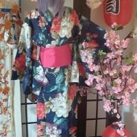 Best Yukata Kimono Kostum Wanita Jepang Cosplay- Yukata DeiMaru Shop