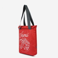 Tote Bag Shrivel Red