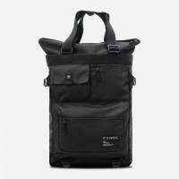 Tote Backpack Grid Black
