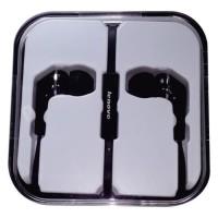 Lenovo Earphone Headset Stereo Earbud with Mic LS118 Black Orinal