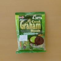 Takara Biscuit Cocoa Graham Matcha Cream, Cookie Matcha Made in Japan