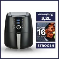 Air Fryer 4 Liter + 16 Resep Air Fryer - Strogen
