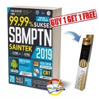 Buku 99,99% Sukses SMBPTN Saintek 2019