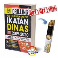 Buku TOP No. 1 Drillling All Tes Masuk Kampus Ikatan Dinas 2019-2020