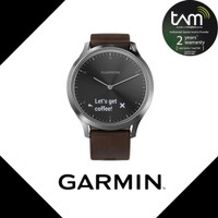 Garmin Vivo Move HR Premium Black Silver Garansi Resmi TAM 2 Tahun